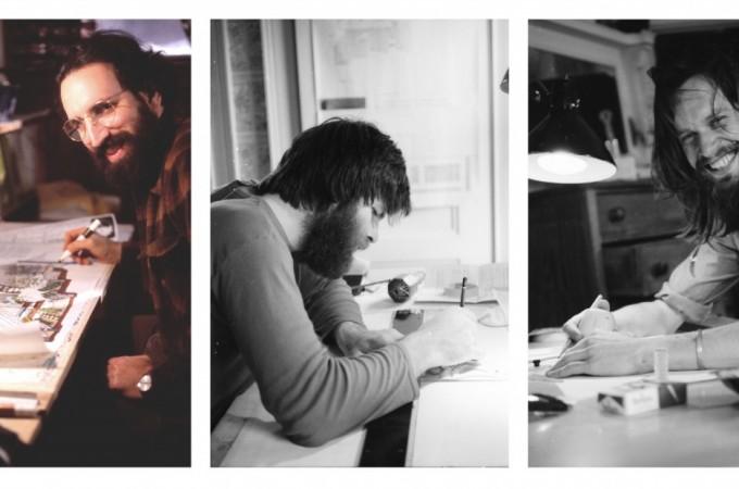 Paul, Ole & David Drawing