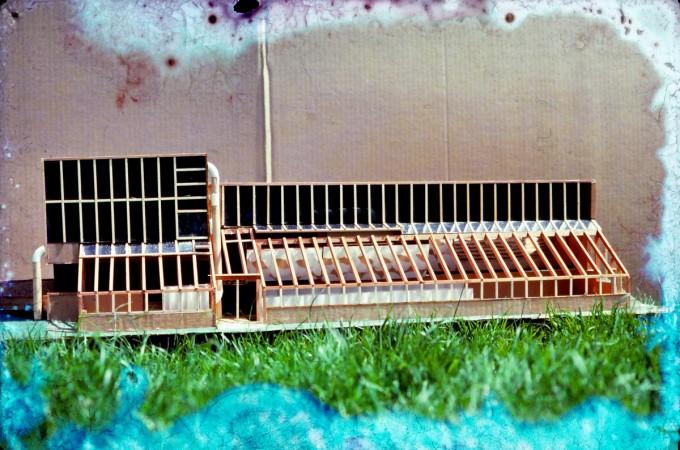 damaged photo of the original model