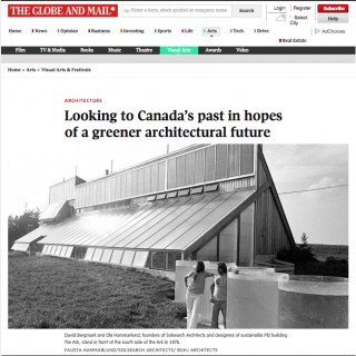 Globe & Mail Media Coverage of the Exhibition